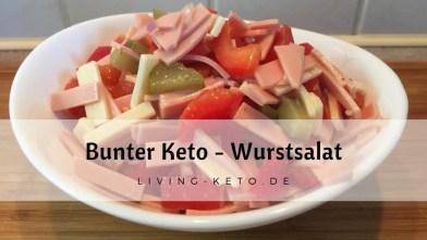 Bunter Wurstsalat