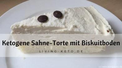 Sahne-Mascarpone-Torte mit Biskuitboden