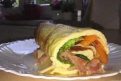 Schinken-Käse-Wraps