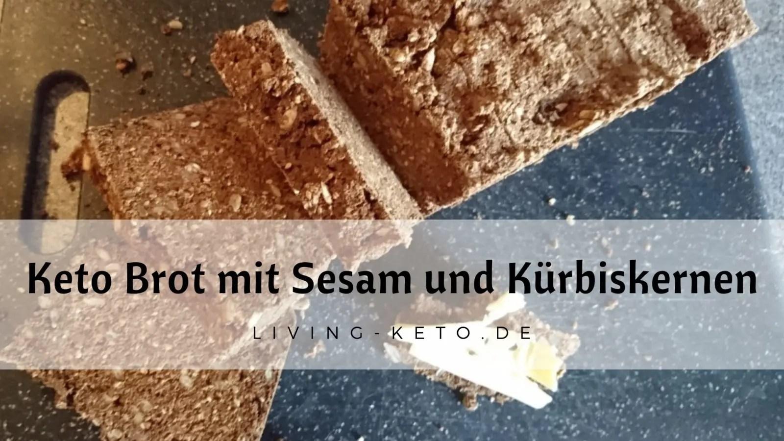 Read more about the article Brot mit Sesam und Kürbiskernen
