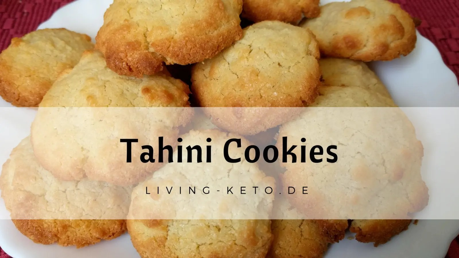 Read more about the article Tahini Cookies by Ela