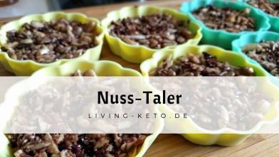 Read more about the article Nusstaler – Die ideale Schoko Nascherei ohne Zucker