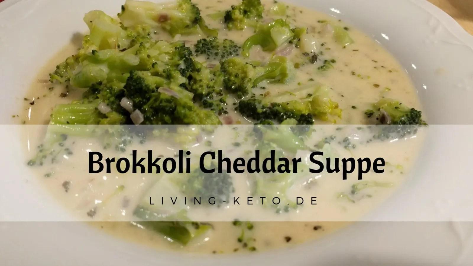 Brokkoli-Cheddar-Suppe