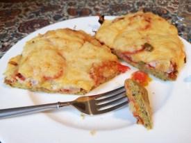 ketogene Pizza Rezept