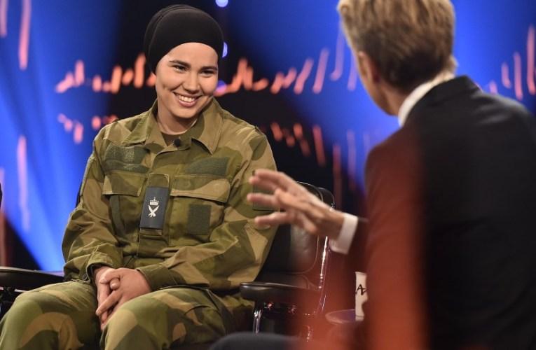 مقابلة ايمان مسكيني مع التلفزيون النرويجي تتحدث عن الإسلام والحجاب مترجمة