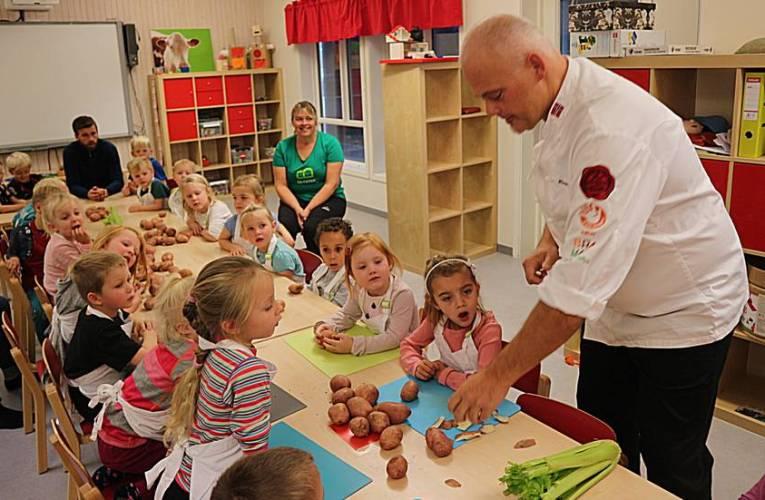 Fortel om din første dag på praksis i barnehagen (teksten A2-B1)
