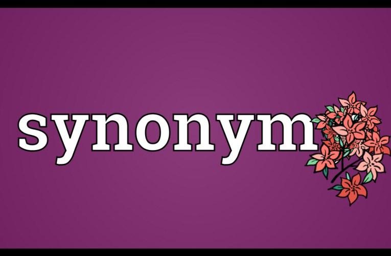 Kva ord betyr omtrent det same som …..? vanleg spørsmål til eksamen (1)