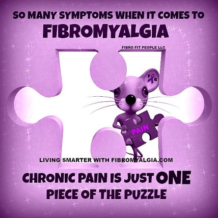 Pain is only one of many severe fibro symptoms.