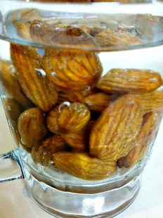 Soaking raw almonds is the key to Germination.