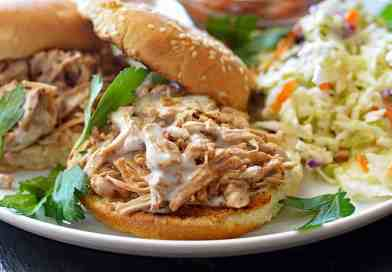 Pulled Jackfruit with Alabama White Barbecue Sauce