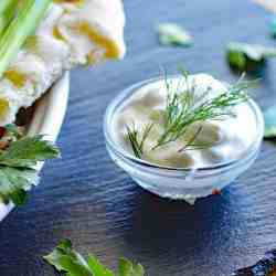 Creamy Vegan Tzatziki Sauce Recipe