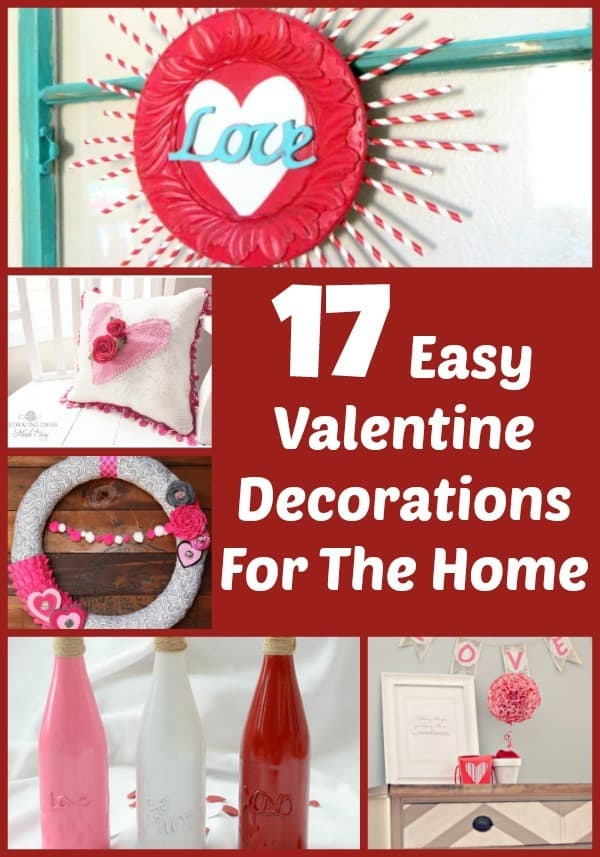 17 Easy Valentine Decorations For You To Make • Living A Frugal Life