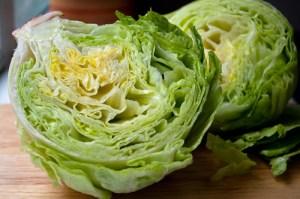 Iceberg lettuce by Joana Petrova