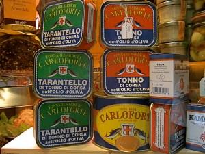Tuna, preserved (Tonno conservato)
