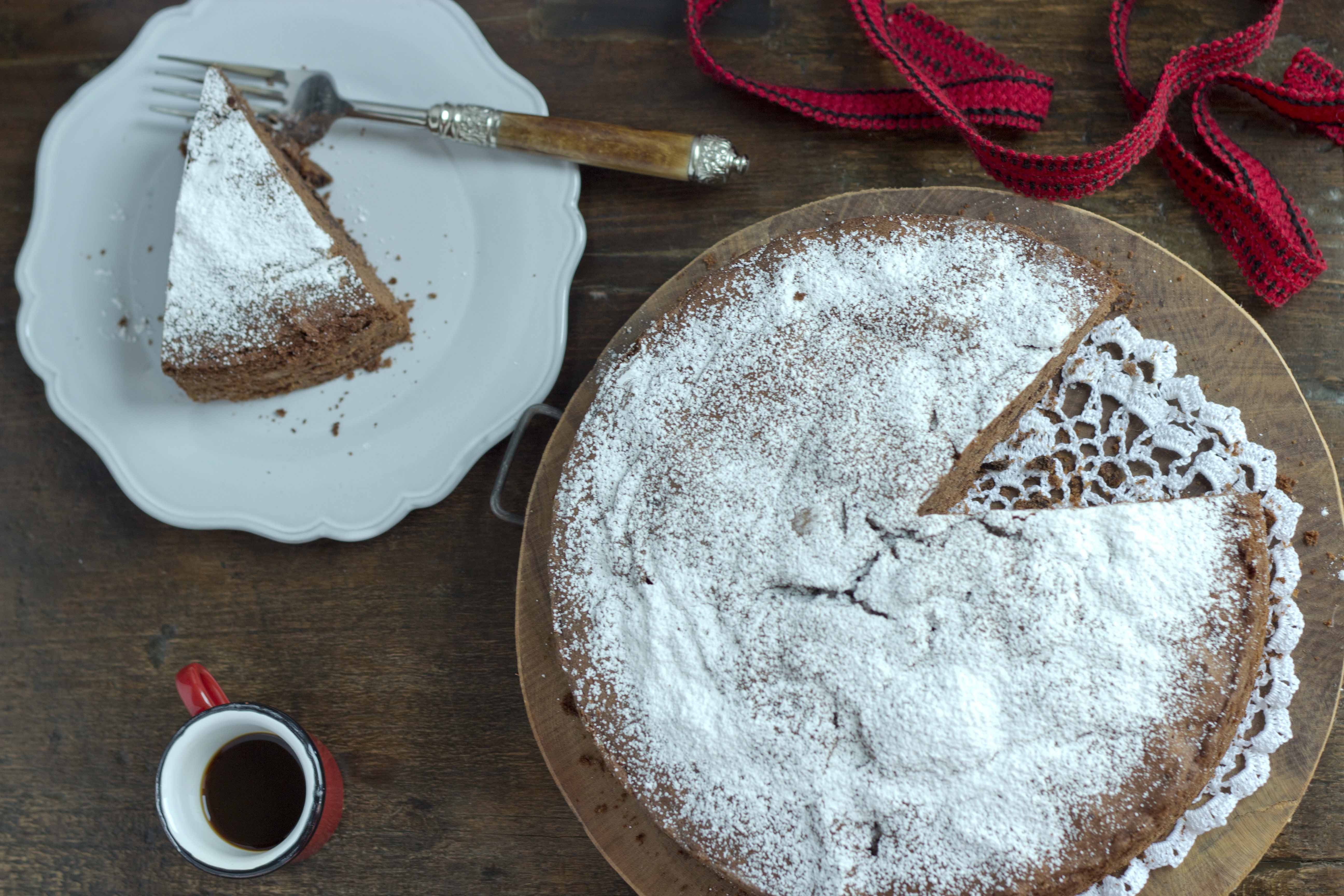 Torta di cioccolato chocolate cinnamon cake I