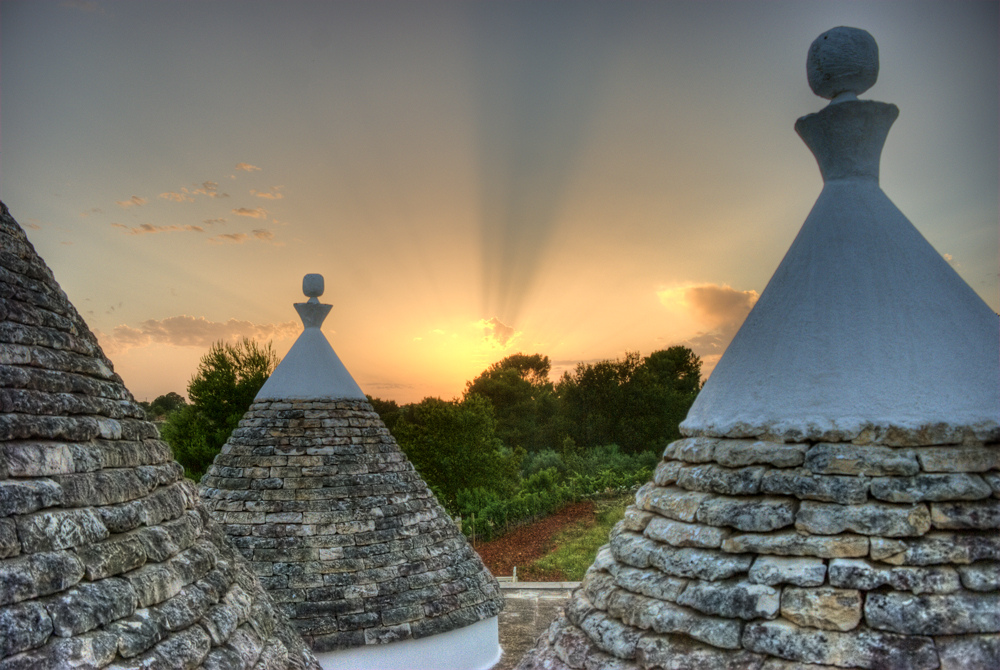 Trulli houses by Dorli Photography