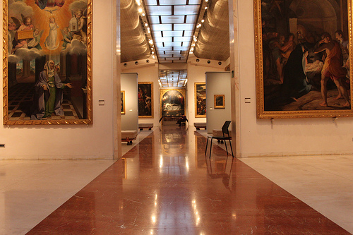 Pinacoteca Nazionale museum in Bologna by Marco Assini