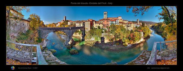 Ponte del diavolo, Cividale del Friuli by Andrea Rossi