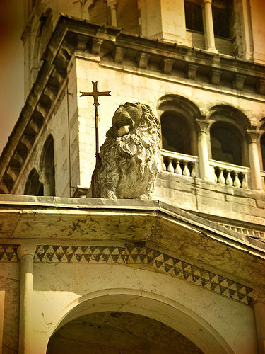 The Duomo in Modena by Giorgio Raffaelli