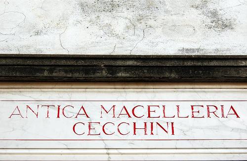 Antica Macelleria Cecchini by Giulio Nepi