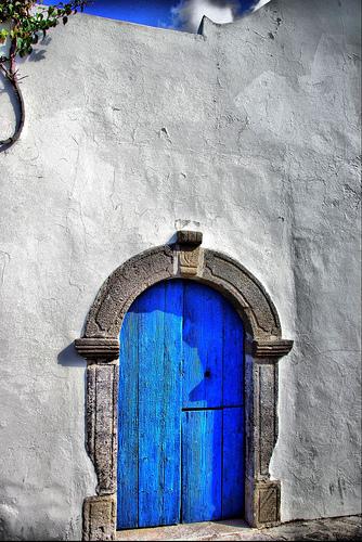 Door in Sicily