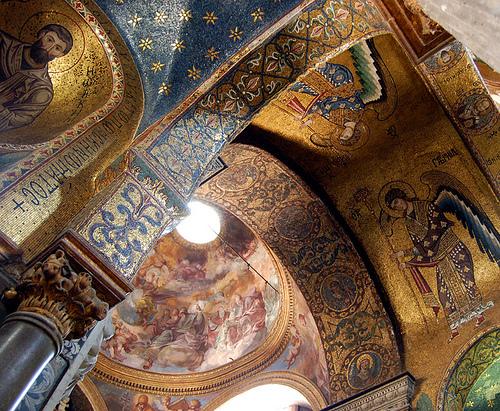 Inside La Matorana in Palermo