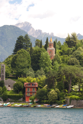 The Italian lake district Lago di Como Como Lake