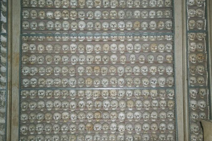 Ossuary of Solferino where the remains of those who died in the battle remain by Alex1011