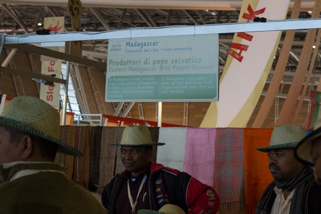 Peppercorn farmers from Madagascar
