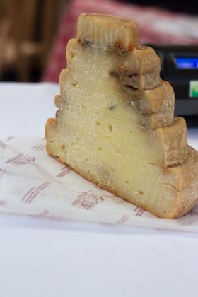 Montebore cheese made since the 15th century near Tortona