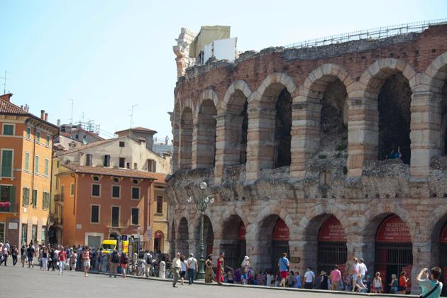 Roman Theatre in Verona
