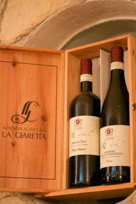 La Giaretta bottles