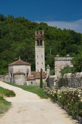 Villa della Torre, Allegrini's tasting room