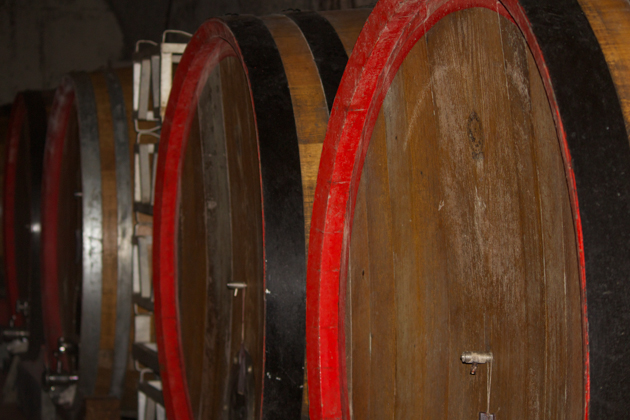 Barrels of all different sizes
