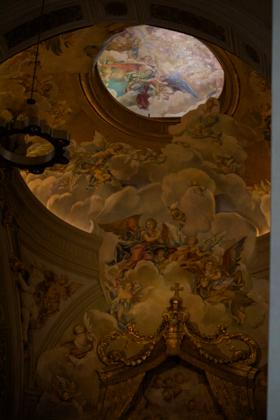 Inside the Duomo of Udine