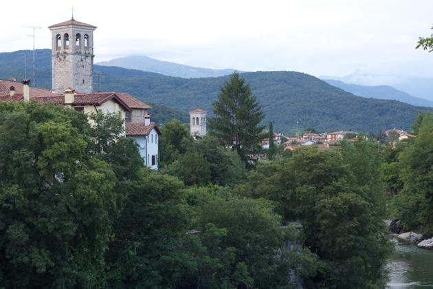 Cividale del Friuli and the Natisone River