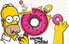 Homer Simpson by Freak Show by Humbert