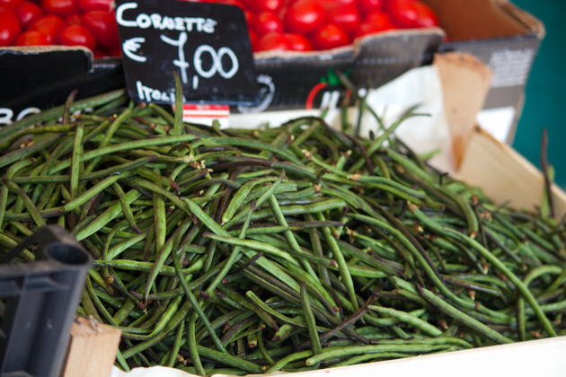 Cornette (a thin type of green beans)