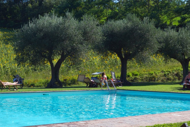 Poolside at Villa Giulia