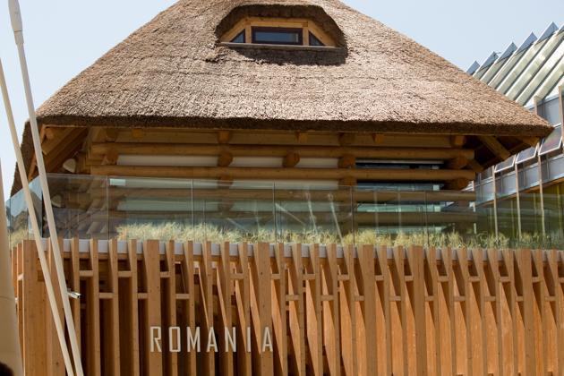 Romania's pavilion