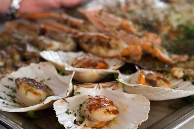 Grigliata mista di pesce (mixed grilled seafood)