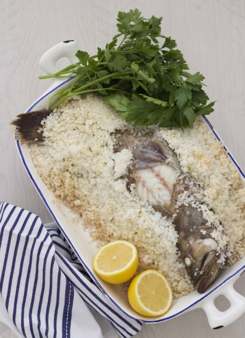 Branzino Al Sale Salt Baked Sea Bass Living A Life In