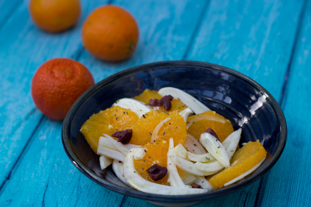 Insalata di arance, olive e finocchio (orange, fennel and olive salad) – Sicilia