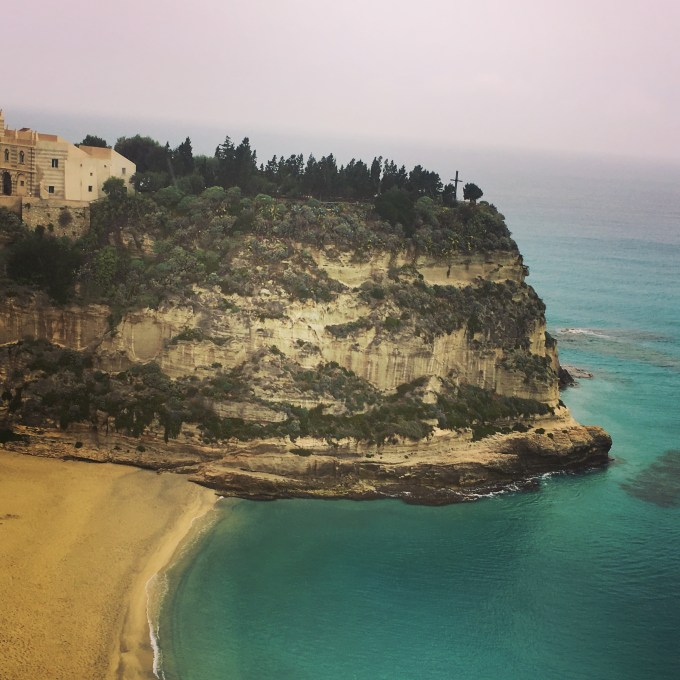Tropea- how could onions grown in this spectacular setting not be delicious?