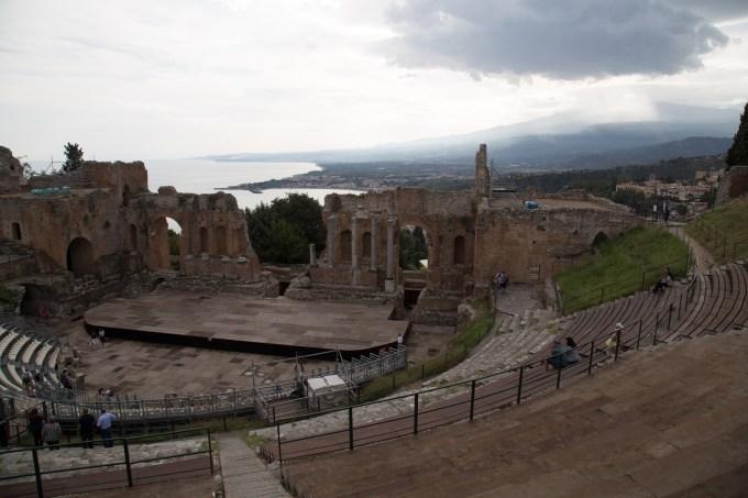 The Greek Theatre in Taormina
