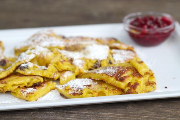 Kaiserschmarrn: a sweet omelette of Austrian origin.