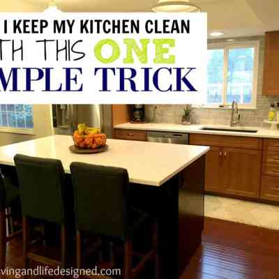 Messy Kitchen? Here's How I Keep My Kitchen Clean All Day Long