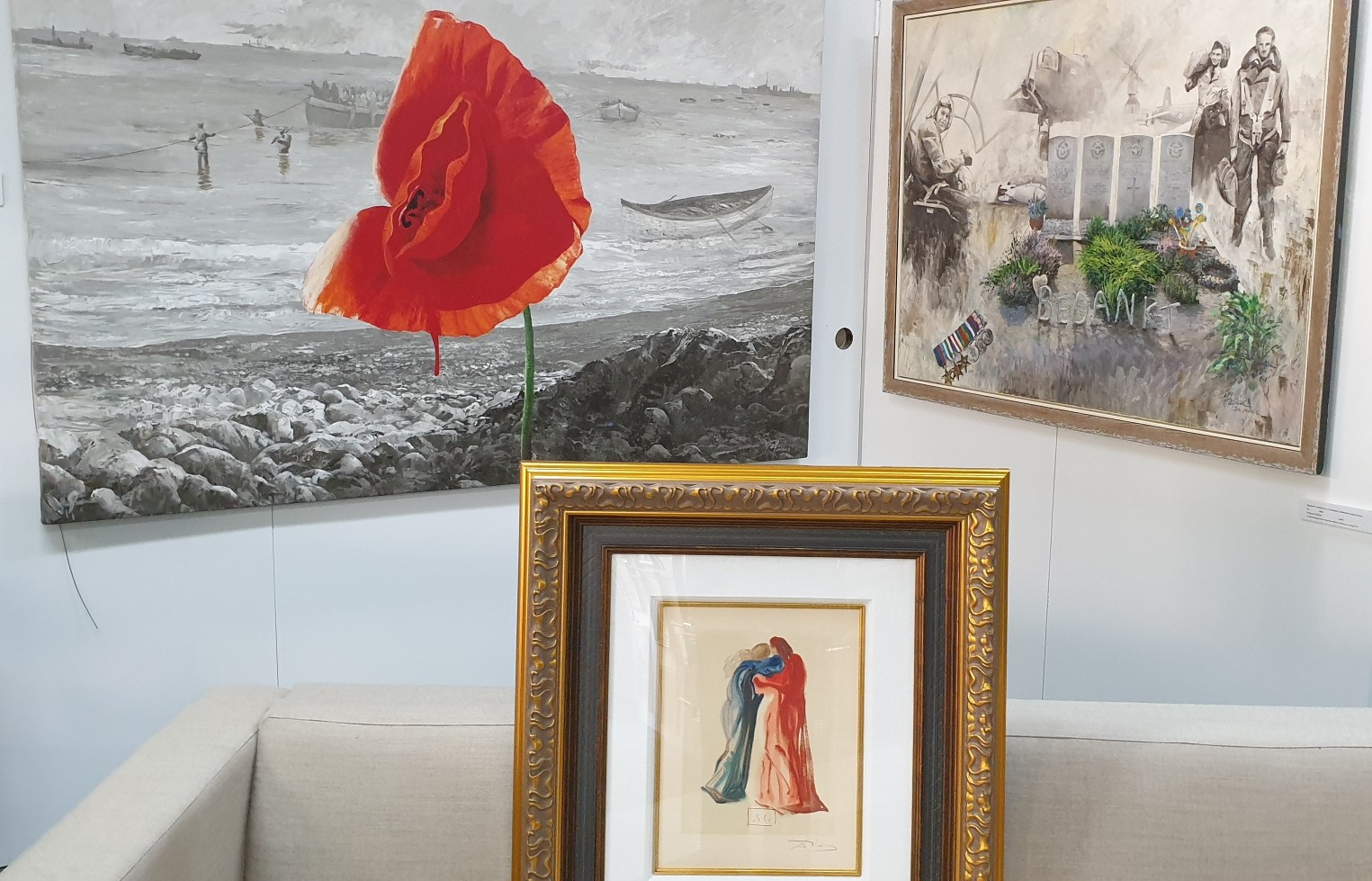 Signed Dali etchings to go on display at The Artists Shed