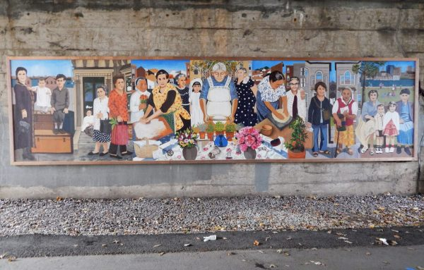 Immigrant Mural Story
