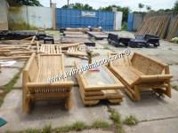 Bamboo Living Room-LOTUS LIVING SET